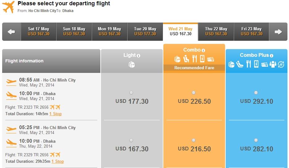 Air Asia đi Bangladesh
