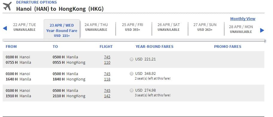 Air Asia đi Hồng Kông