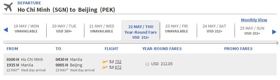 Air Asia đi Bắc Kinh