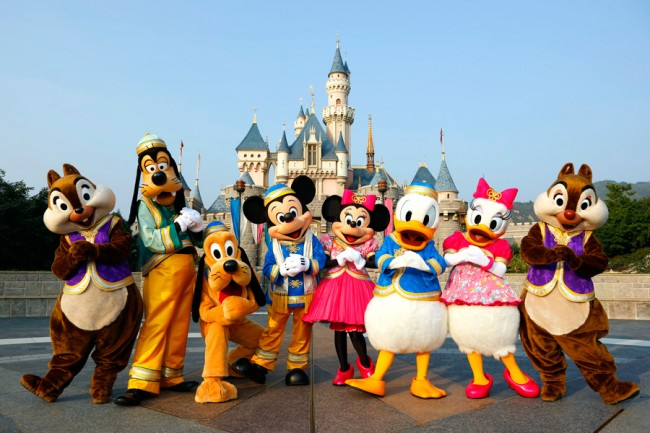 Disneyland hồng kông1
