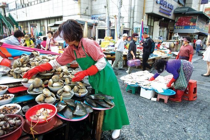 Chợ cá Jagalchi1