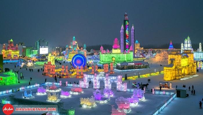 Lễ hội băng đăng Cáp Nhĩ Tân