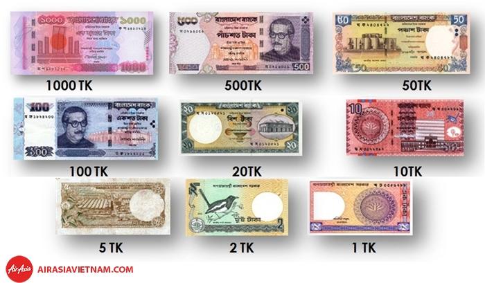 Tiền tệ Bangladesh