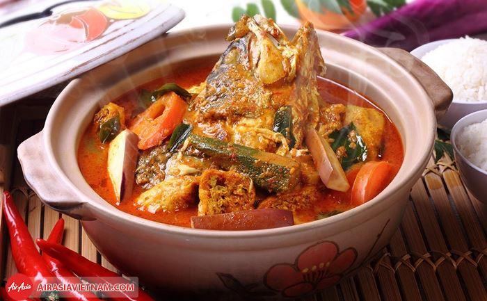 Món cà ri đầu cá