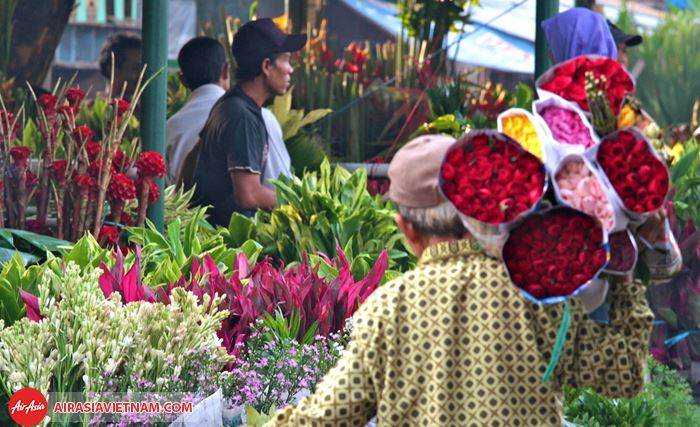 Chợ hoaPasar Rawa Belong