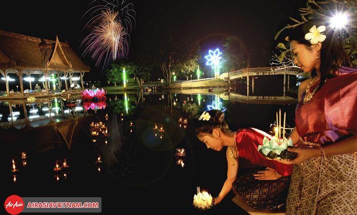 Lễ hội Loy Krathong Bangkok