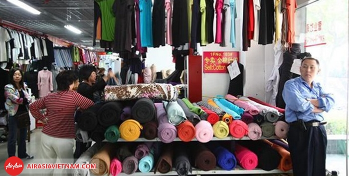 Chợ vải Shanghai South Bund