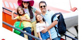 Thủ tục giấy tờ của trẻ nhỏ khi đi máy bay