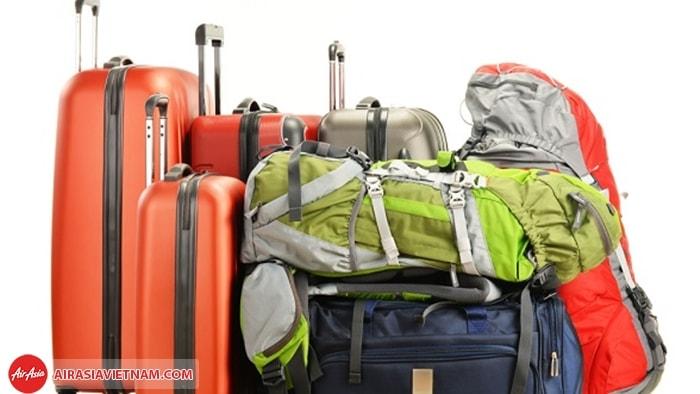 Quy định về kích thước, trọng lượng hành lý ký gửi của Air Asia