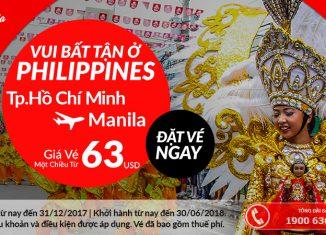 Air Asia khuyến mại vé máy bay chỉ từ 63 USD