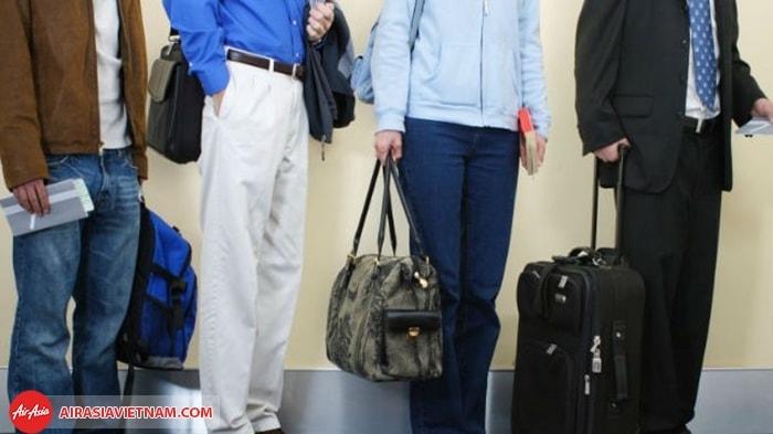 Quy định hành lý xách tay của Air Asia