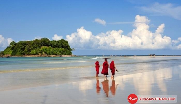 Một số chú ý khi du lịch biển ở Myanmar