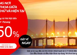 Air Asia giảm giá vé đến 50%