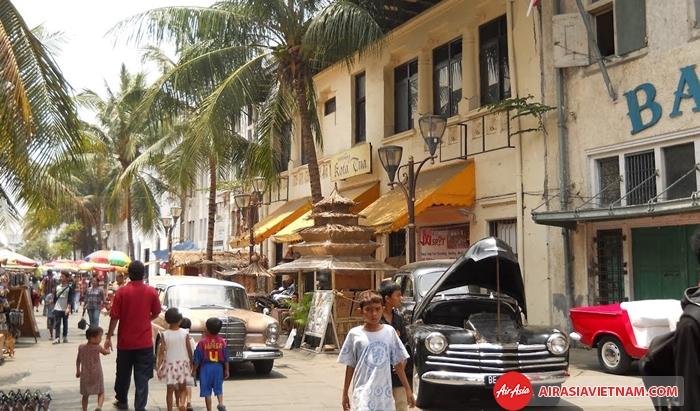 Khu Phố cổ Old Town - Jakarta