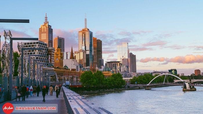 Thành phố Melbourne – Úc