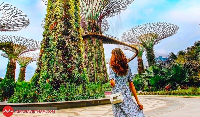 Check - in ở Gardens by the Bay