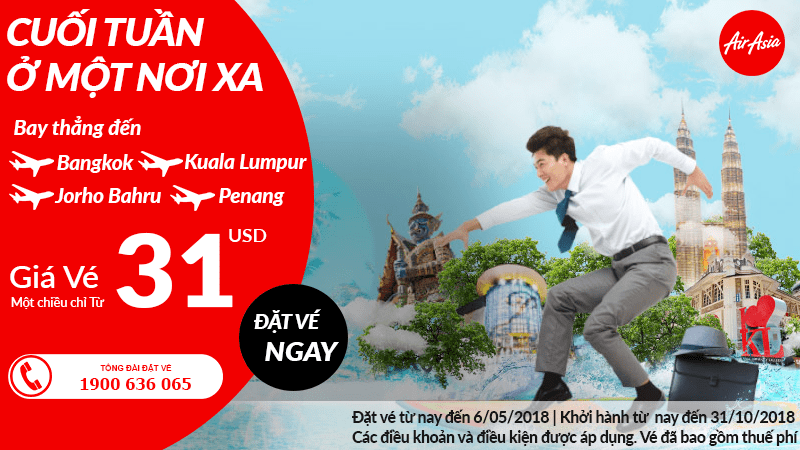 Chương trình khuyến mại Air Asia