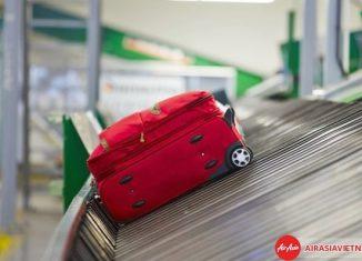 Hành lý Air Asia bất thường