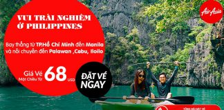 Air Asia mở bán vé đi Philippines từ 68 USD