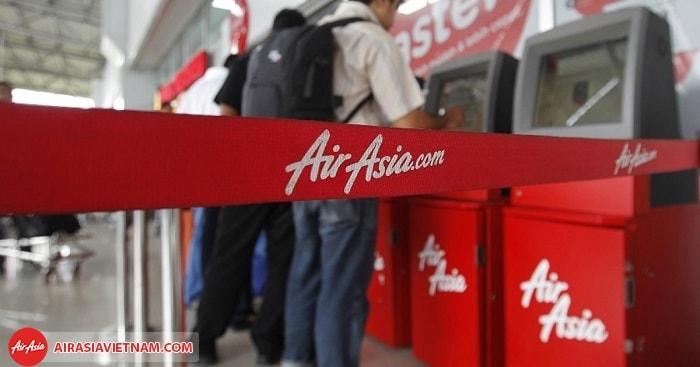 Tự làm thủ tục check - in Air Asia