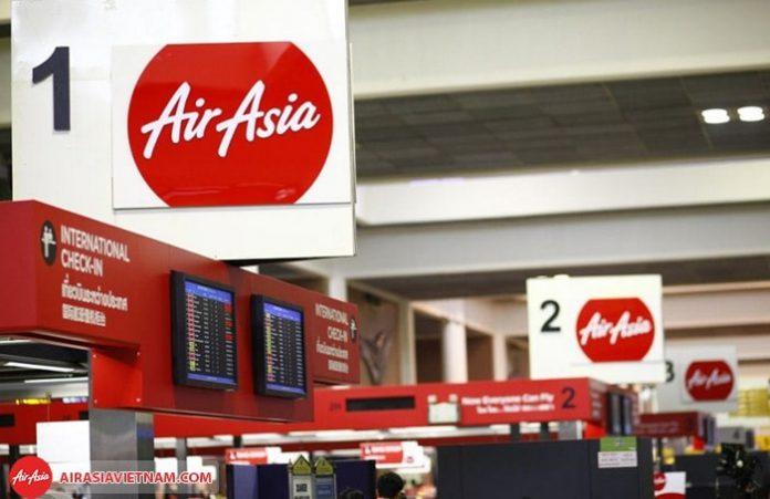 Quy định tự làm thủ tục check - in Air Asia