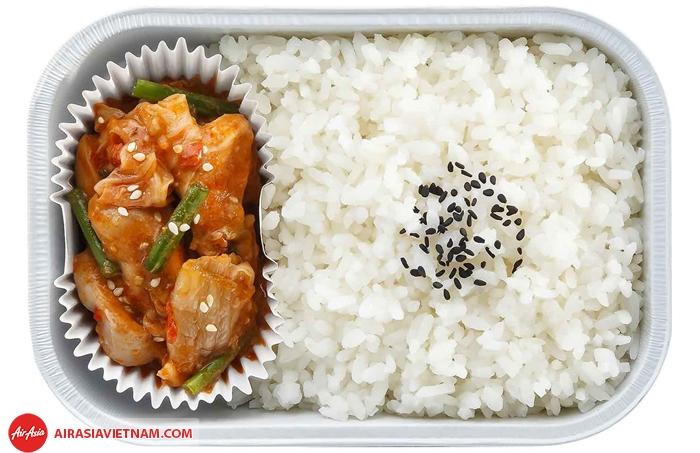 Nasi Kandar với chicken Varuval