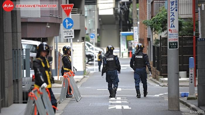 Tỷ lệ phạm tội ở Nhật rất thấp