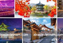 Những địa điểm yêu thích ở Hàn Quốc