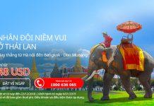 Chương trình khuyến mãi Hà Nội - Bangkok