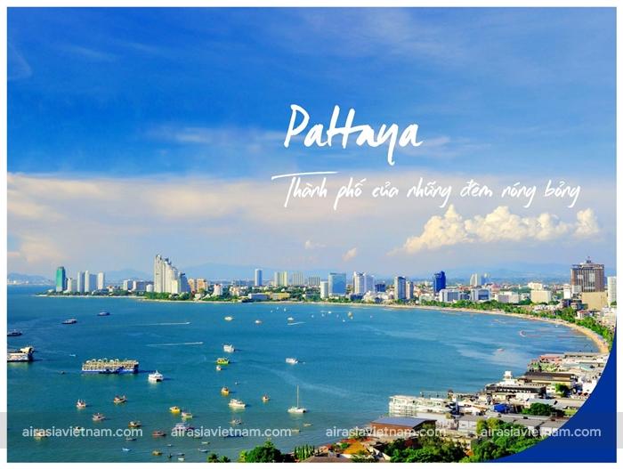 Pattaya - Thành phố sôi động về đêm