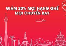 Bay khắp châu Á cùng Air Asia trong chương trình khuyến mãi 20%