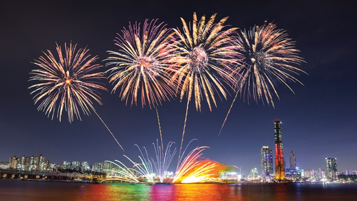 Chiêm ngưỡng lễ hội pháo hoa Quốc tế tại Seoul