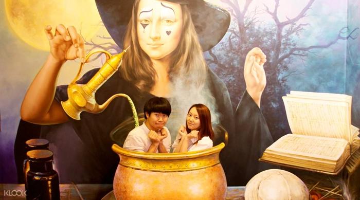 Sống ảo tại bảo tàng Trick Eyes Seoul