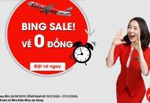 Air Asia khuyến mãi hàng ngàn vé máy bay 0 đồng ngập tràn đường bay