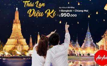 Vi vu Thái Lan cùng Air Asia khuyến mãi, săn vé máy bay chỉ từ 950.000 VNĐ