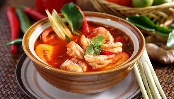 Thưởng thức hương vị món ăn Thái Lan qua Tom Yum